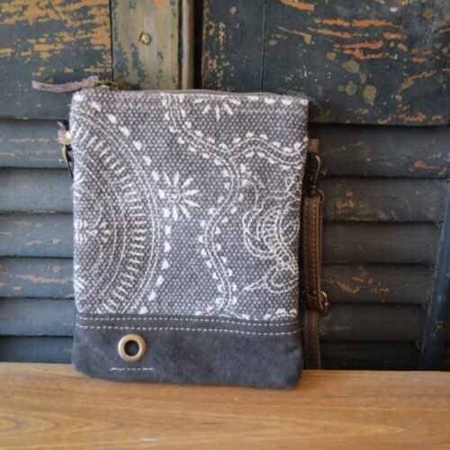 Mini Filigree Crossbody Bag