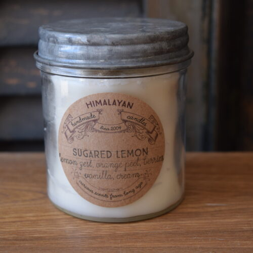Sugared Lemon Soy Candle