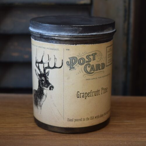 Grapefruit Pine Soy Candle