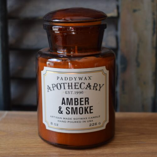 Amber & Smoke Soy Cangle