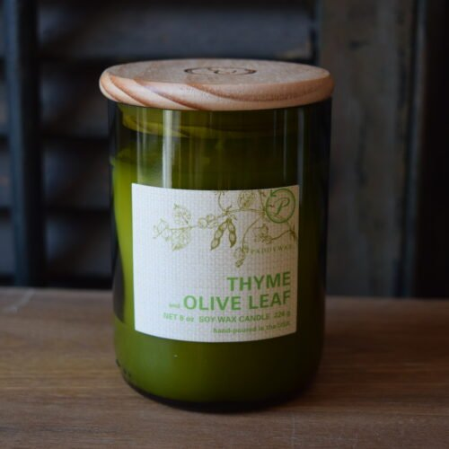 Thyme/Olive Leaf Soy Candle