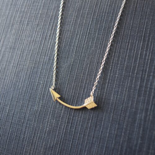 Sterling Silver Arrow Necklace
