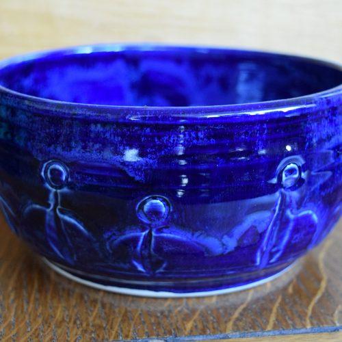 Med Cobalt Blue Friendship Bowl