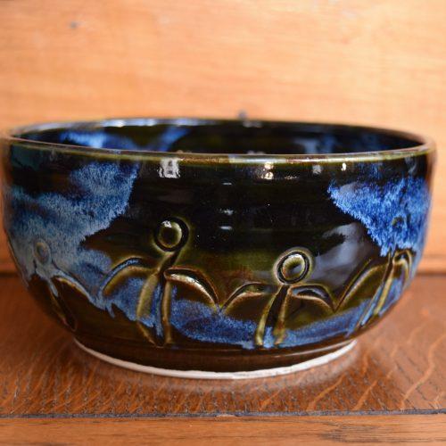 Med Dark Blue Friendship Bowl