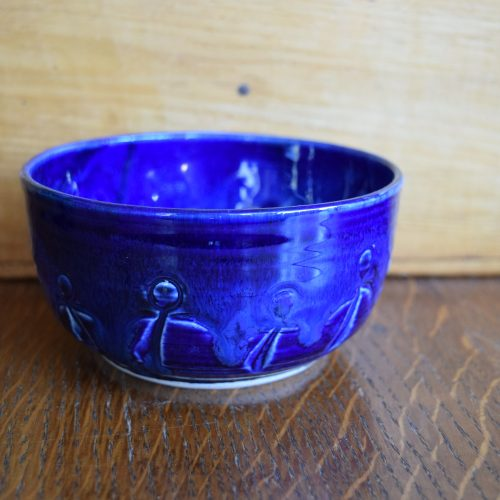 Small Colbalt Blue Freindship Bowl