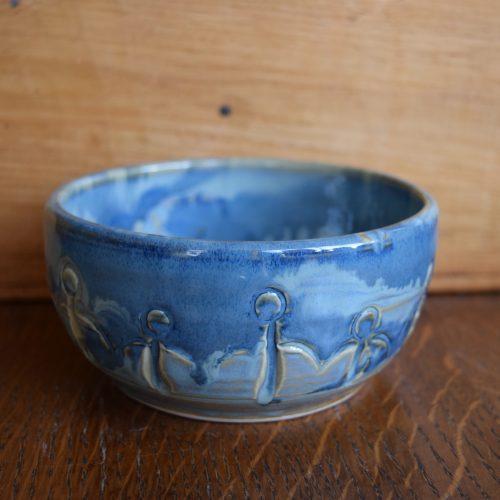 Sm Light Blue Friendship Bowl