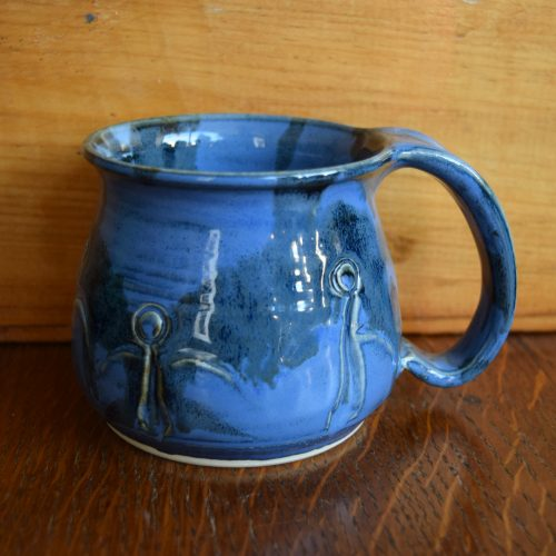 Blue Friendship Mug